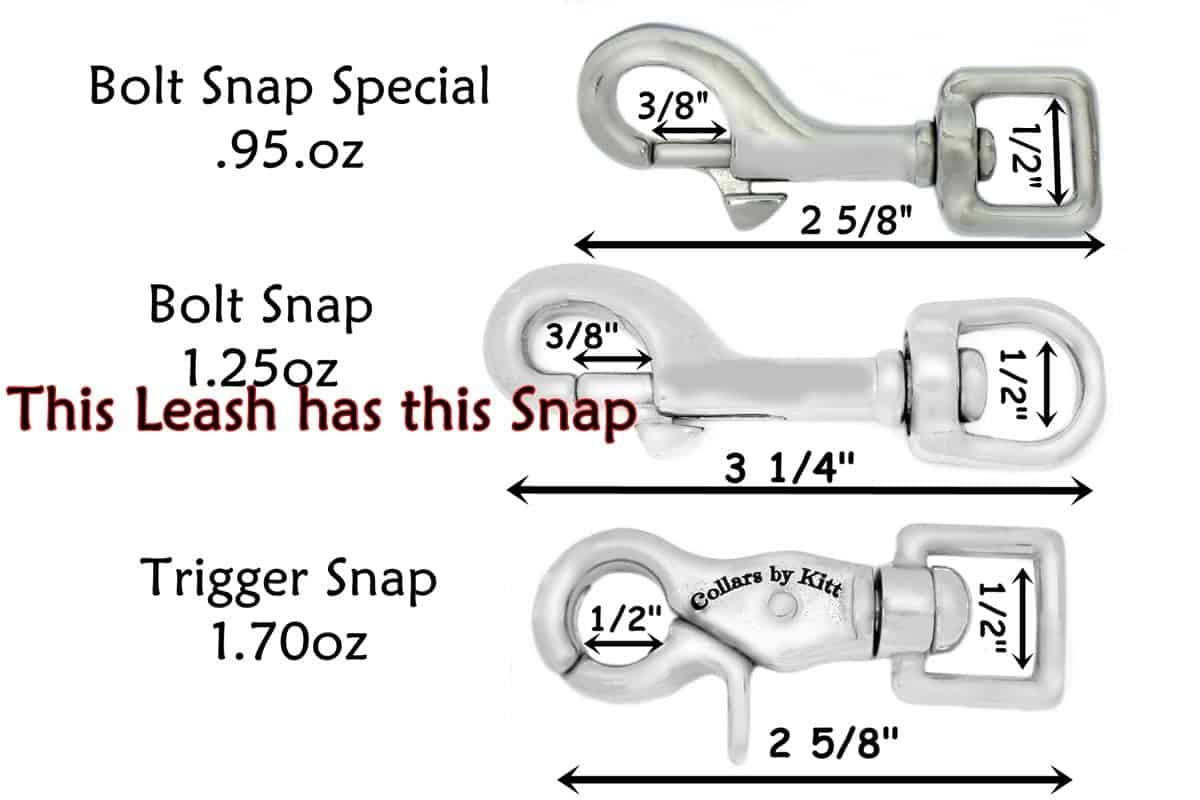 Tracking Leash snap