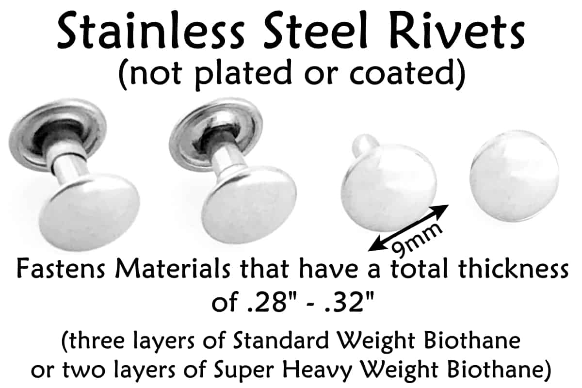Long Stainless Steel Rivets